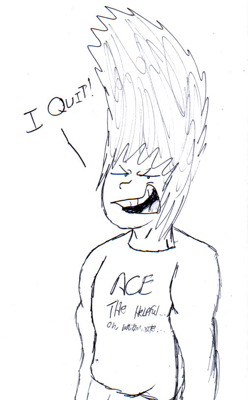 Ace has a message