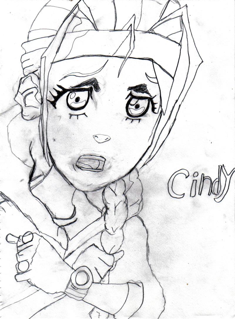 Eddyart - Cindy