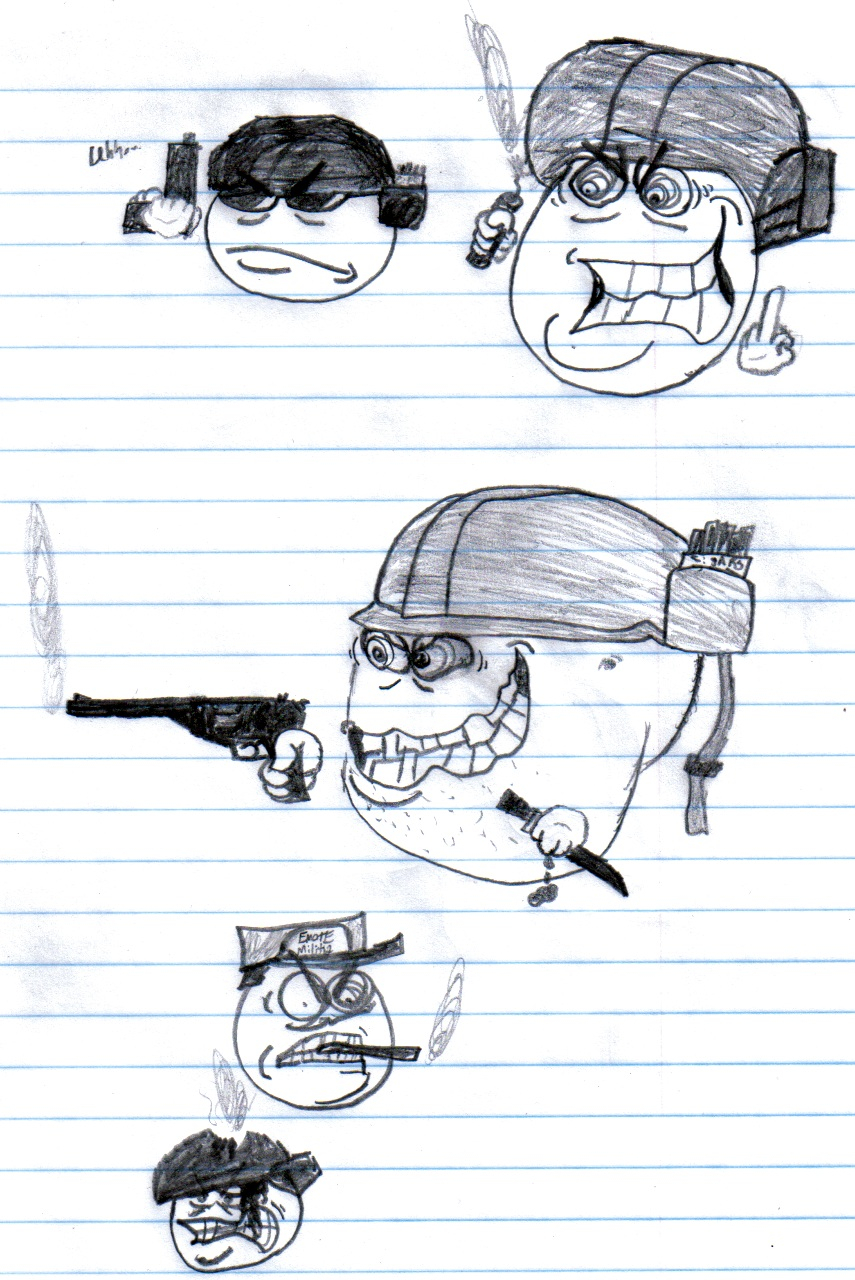 Sarge sketches1/2
